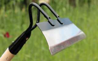 Тяпка садовая: основные виды и назначение