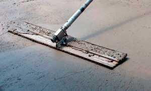 Гладилка по бетону — виды, как сделать своими руками