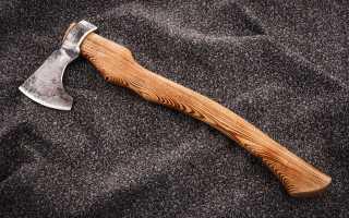 Топор своими руками: как сделать, инструкция по заточке инструмента
