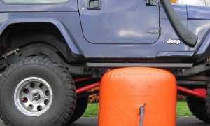 Пневмодомкрат автомобильный: конструкция, варианты изготовления своими руками